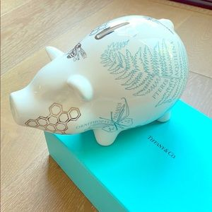 Tiffany & Co. Flora and Fauna Piggy Bank